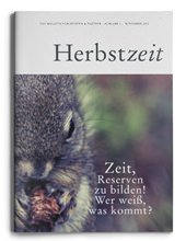 Abbildung des Kanzleimagazin der Steffen & Partner Gruppe, Ausgabe Herbst 2012